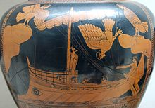 Odysseus fight with the Sirens